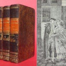Old books - 1836 AVENTURAS DEL BARONCITO DE FOBLAS - SEVILLA - LOUVET DE COUVRAY - 90864935