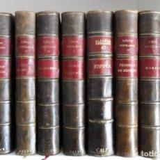 Libros antiguos: CLÁSICOS CASTELLANOS 9 TOMOS MADRID 1913. VARIOS AUTORES. VER DESCRIPCIÓN.. Lote 90962850