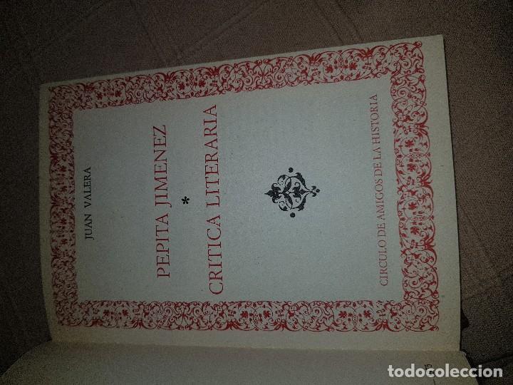 Libros antiguos: Juan Valera Pepita Jiménez - Foto 2 - 91012240