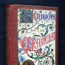 Libros antiguos: QUIJOTE - CERVANTES - SEIX - ILUSTRADO COLOR POR CARBONERO Y BARRAU - PRECIOSA ENCUADERNACION - T. I. Lote 91470980