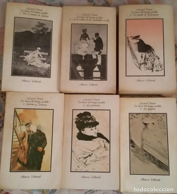 EN BUSCA DEL TIEMPO PERDIDO. MARCEL PROUST. 6 VOLÚMENES (Libros antiguos (hasta 1936), raros y curiosos - Literatura - Narrativa - Clásicos)