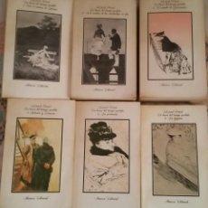 Libros antiguos: EN BUSCA DEL TIEMPO PERDIDO. MARCEL PROUST. 6 VOLÚMENES. Lote 92694605