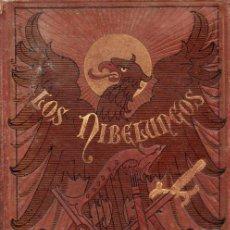 Libros antiguos: LOS NIBELUNGOS (BIBL. VERDAGUER, 1883). Lote 92925040