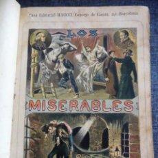 Libros antiguos: LOS MISERABLES, DE VICTOR HUGO (MAUCCI, 1897) - LAMINAS EN COLOR Y GRABADOS INTERCALADOS - TOMO 1. Lote 93294450