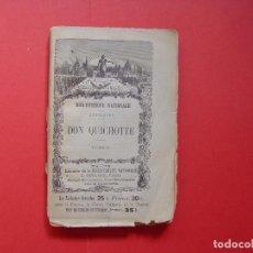 Libros antiguos: CERVANTES: DON QUICHOTTE (DON QUIJOTE, TOMO II, BIBLIOTHÈQUE NATIONALE, 1907) 1ª ED. ¡ORIGINAL! RARO. Lote 93375715