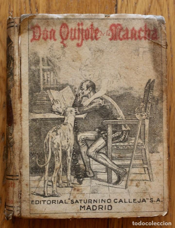 MIGUEL DE CERVANTES. DON QUIJOTE DE LA MANCHA. SATURNINO CALLEJA AÑO 1905. (Libros antiguos (hasta 1936), raros y curiosos - Literatura - Narrativa - Clásicos)