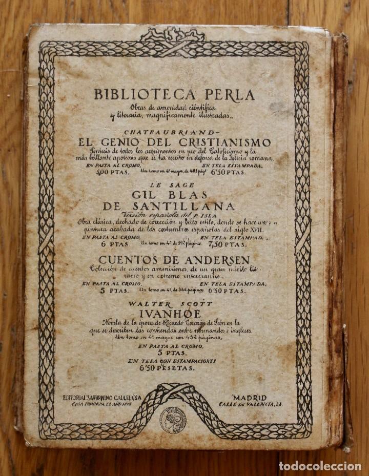 Libros antiguos: MIGUEL DE CERVANTES. DON QUIJOTE DE LA MANCHA. SATURNINO CALLEJA AÑO 1905. - Foto 2 - 93660335
