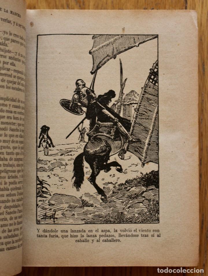 Libros antiguos: MIGUEL DE CERVANTES. DON QUIJOTE DE LA MANCHA. SATURNINO CALLEJA AÑO 1905. - Foto 4 - 93660335
