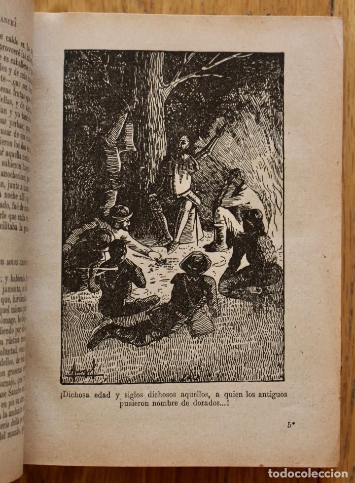 Libros antiguos: MIGUEL DE CERVANTES. DON QUIJOTE DE LA MANCHA. SATURNINO CALLEJA AÑO 1905. - Foto 6 - 93660335