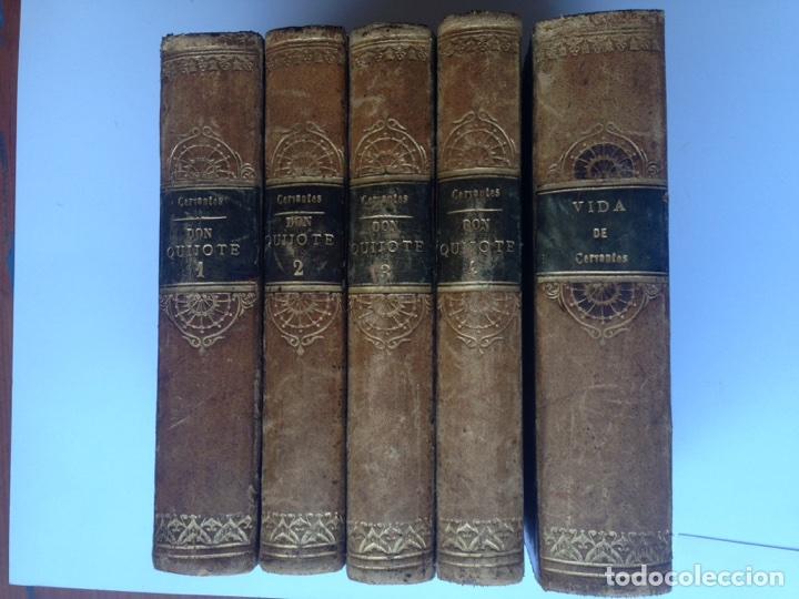 Libros antiguos: Don Quijote imprenta real 1819 cinco tomos - Foto 2 - 93801462