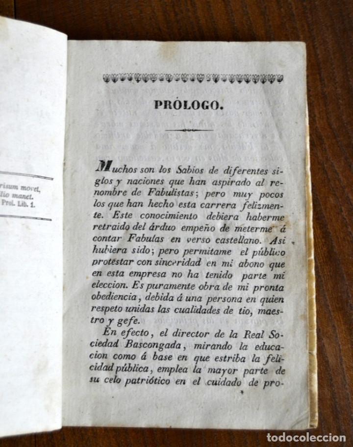 Libros antiguos: 1846 FABULAS EN VERSO CASTELLANO FELIX MARIA SAMANIEGO 2 TOMOS EN 1 VOLUMEN - Foto 6 - 94165845