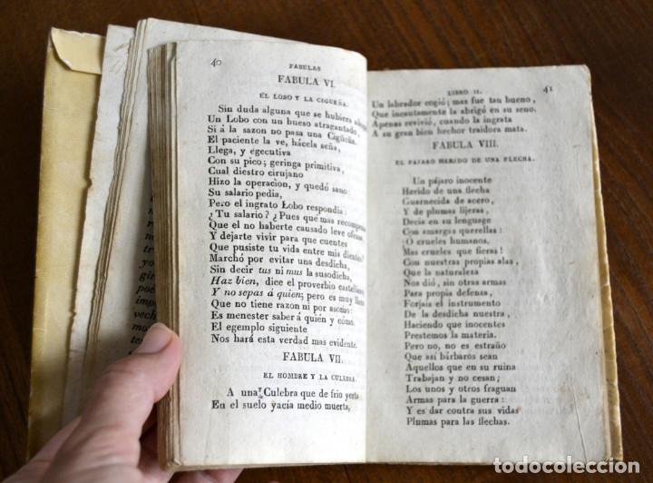 Libros antiguos: 1846 FABULAS EN VERSO CASTELLANO FELIX MARIA SAMANIEGO 2 TOMOS EN 1 VOLUMEN - Foto 8 - 94165845