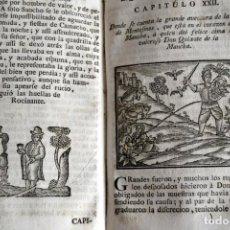 XVIII 1755 * QUIJOTE * VIDA Y HECHOS DEL HIGALGO DON QUIXOTE DE LA MANCHA CERVANTES * GRABADOS