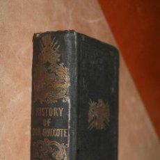 Libros antiguos: DON QUIXOTE - HALIFAX - 1742 - PERCALINA ILUSTRADA. Lote 52467619