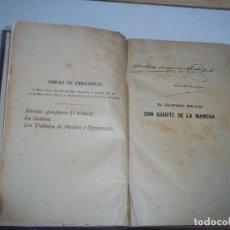 Libros antiguos: TOMO DON QUIJOTE DE LA MANCHA OBRAS DE CERVANTES SOPENA S/F AÑOS 20/30 POSIBLE RECOGIDA MALLORCA. Lote 95011503