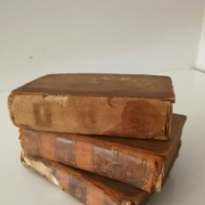 Libros antiguos: CONTES MORAUX PAR MANONTEL TRES TOMOS AN IX. Lote 95068227