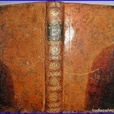 Libros antiguos: AÑO 1782. OBRAS DE BOILEAU DESPRÉAUX. LIBRO DE SÁTIRAS DEL SIGLO XVIII.. Lote 95563855