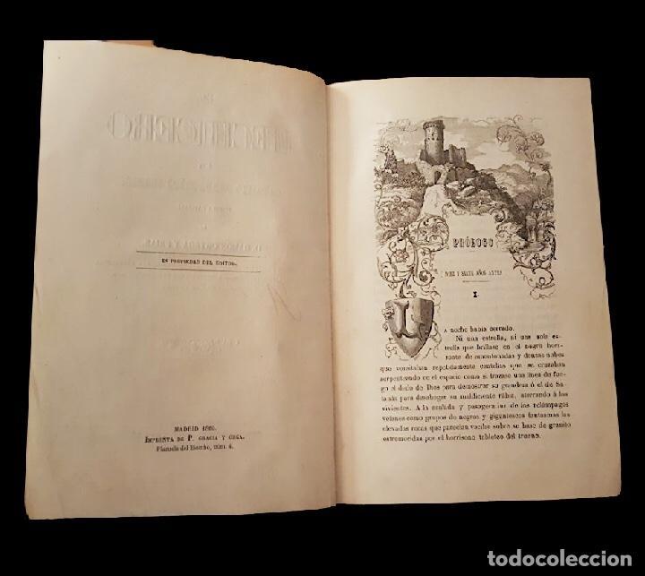 EL HECHICERO O EL CASTILLO DE LOS SIETE CONDES-ORTEGA Y FRÍAS.1860, PRECIOSAS LÁMINAS (Libros antiguos (hasta 1936), raros y curiosos - Literatura - Narrativa - Clásicos)