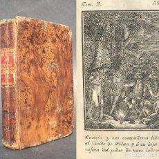 Libros antiguos: 1817 - AVENTURAS DE GIL BLAS DE SANTILLANA ROBADAS A ESPAÑA - GRABADOS - CASTELLANO. Lote 95823803