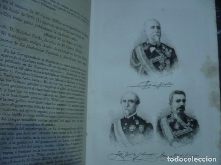 Libros antiguos: OBRAS SELECTAS DE DON FRANCISCO VILLAMARTIN COMANDANTE DE INFANTERIA 1883 MADRID - Foto 5 - 95916119