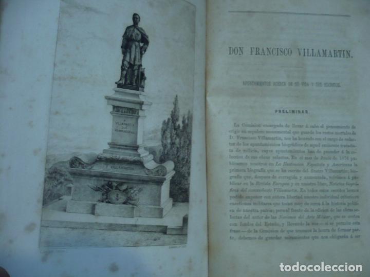 Libros antiguos: OBRAS SELECTAS DE DON FRANCISCO VILLAMARTIN COMANDANTE DE INFANTERIA 1883 MADRID - Foto 6 - 95916119