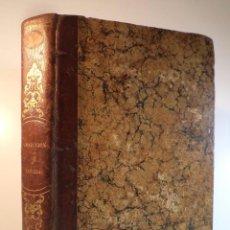 Libros antiguos: UN VOL CON OBRAS DE WALTER SCOTT. VICTOR HUGO. FERNÁNDEZ Y GONZÁLEZ. ESPRONCEDA. CHATEAUBRIAND. 1851. Lote 95921523
