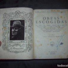 Libros antiguos: OBRAS ESCOGIDAS. ARMANDO PALACIO VALDÉS. M. AGUILAR, EDITOR. PRÓLOGO DE LUIS ASTRANA. 1933. UNA JOYA. Lote 96140627