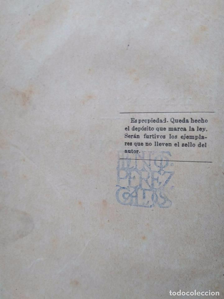 Libros antiguos: Galdós: Amadeo I. La Primera República. Dos Episodios Nacionales en un solo tomo - Foto 6 - 96234031