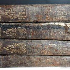 Libros antiguos: EL CONDE DE MONTE-CRISTO. A. DUMAS. 4 TOMOS. LIBRERÍA DE LA SRA. VIUDA DE MAYOL. 1856.. Lote 155743194