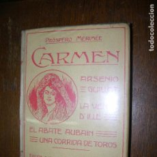Libros antiguos: (F.1) CARMEN DE PRÓSPERO MÉRINÉE AÑO 1910. Lote 96656599