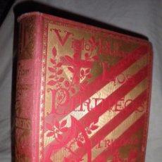 Libros antiguos: LOS PIRINEOS - AÑO 1892 - VICTOR BALAGUER - LUJOSA EDICION.. Lote 96708611
