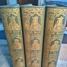 Old books - EL DECAMERON 3 tomos GIOVANNI BOCCACCIO. 1975 - 96858887
