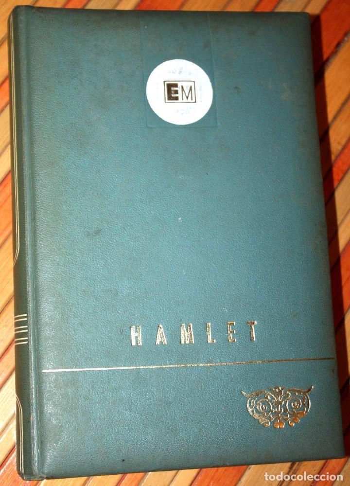 HAMLET - WILLIAM SHAKESPEARE - EDICIONES MARTE EDICIÓN LIMITADA NUMERADA Nº 1619 - CLB (Libros antiguos (hasta 1936), raros y curiosos - Literatura - Narrativa - Clásicos)