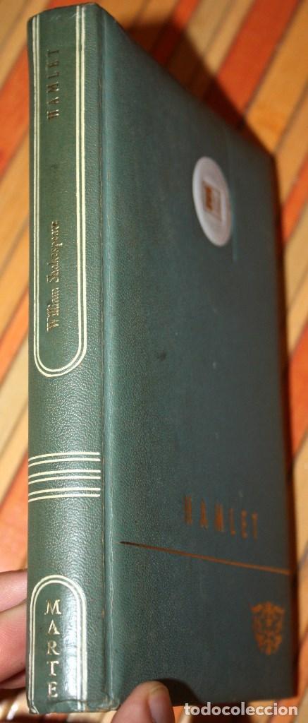 Libros antiguos: hamlet - william shakespeare - ediciones marte edición limitada numerada nº 1619 - CLB - Foto 2 - 97398039