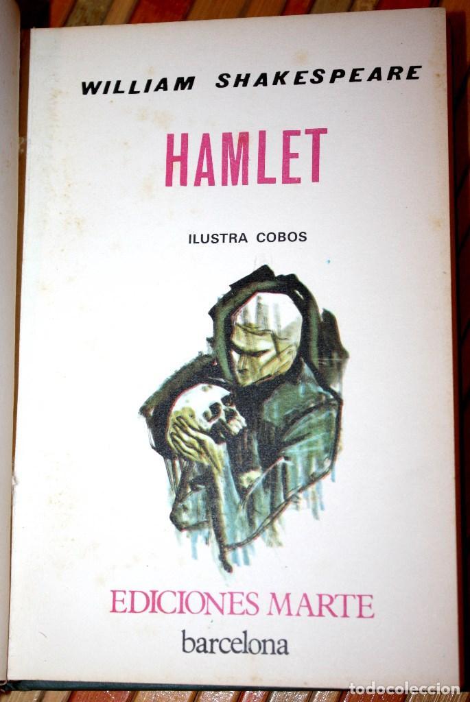 Libros antiguos: hamlet - william shakespeare - ediciones marte edición limitada numerada nº 1619 - CLB - Foto 3 - 97398039