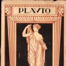 Libros antiguos: PLAUTO : COMEDIAS - PSEUDOLO - LOS TRES NUMOS (PROMETEO, C. 1930). Lote 97506259