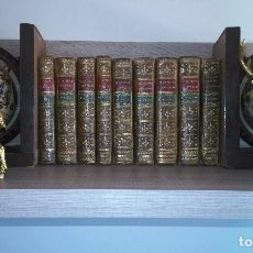 Libros antiguos: QUIJOTE DE GABRIEL DE SANCHA EN NUEVE TOMOS (1798-1799). Lote 97695007