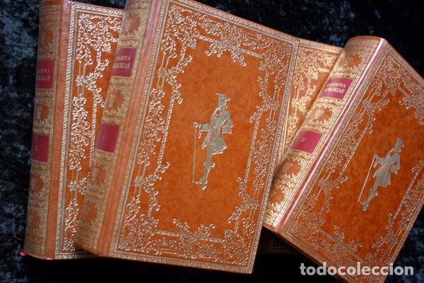 Libros antiguos: MEMORIAS DE JACOBO CASANOVA DE SEINGALT - 4 TOMOS - BIBLIOFILIA - Ilustrada - Limitada - Foto 2 - 90826435