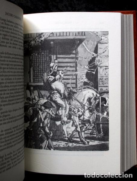 Libros antiguos: MEMORIAS DE JACOBO CASANOVA DE SEINGALT - 4 TOMOS - BIBLIOFILIA - Ilustrada - Limitada - Foto 3 - 90826435