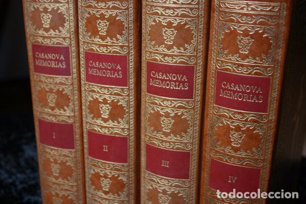 Libros antiguos: MEMORIAS DE JACOBO CASANOVA DE SEINGALT - 4 TOMOS - BIBLIOFILIA - Ilustrada - Limitada - Foto 7 - 90826435