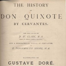 Libros antiguos: THE HISTORY OF DON QUIXOTE. ILLUSTRATED BY DORÉ. Lote 98187347