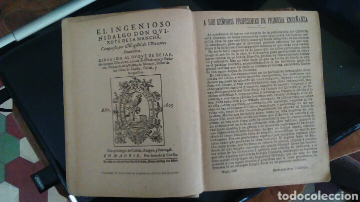 Libros antiguos: DON QUIJOTE DE LA MANCHA, EDITORIAL CALLEJA,MADRID 1905 - Foto 6 - 98346310