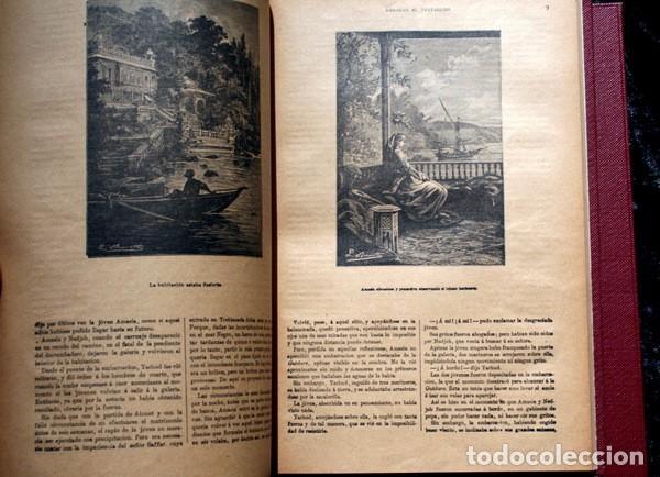 Libros antiguos: JULIO VERNE - ANTIGUO -GRABADOS - KERABAN EL TESTARUDO / MISTRESS BRANICAN / BILLETE DE LOTERIA - G - Foto 5 - 98358995