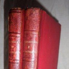 Libros antiguos: LA ARAUCANA Y LA MOSQUEA - AÑO 1861 - A.ERCILLA - J.DE VILLAVICIOSA.. Lote 99031651