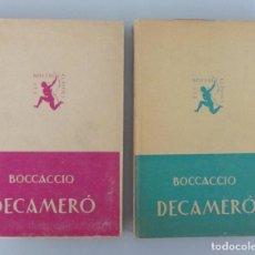 Libri antichi: JUAN BOCCACCIO // DECAMERÓ // INTRODUCCIÓ DE CARLES RIBA // 2 VOLÚMENES // 1926-1928. Lote 99063655