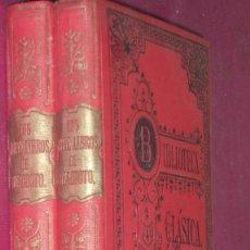 Old books - LOS NUEVE LIBROS DE HERODOTO 1912 2 TOMOS - 145957333