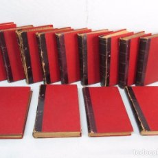 Libros antiguos: NOVELAS ESPAÑOLAS CONTEMPORANEAS. BENITO PEREZ GALDOS. 13 EJEMPLARES. VER FOTOGRAFIAS . Lote 99878947
