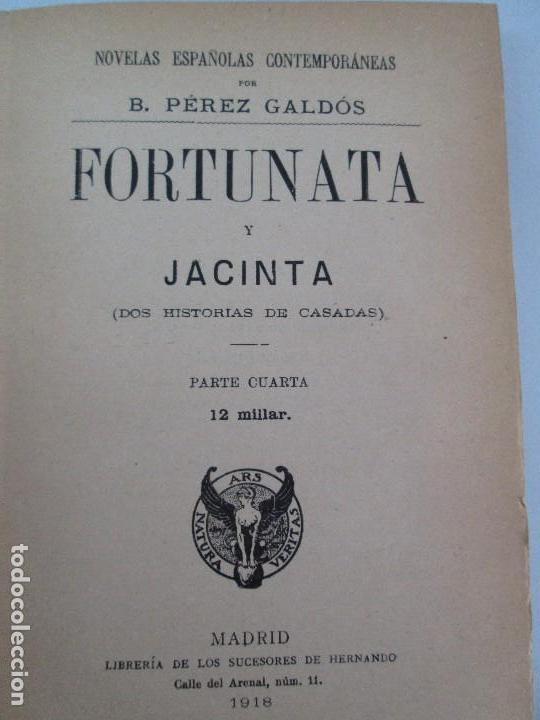 Libros antiguos: NOVELAS ESPAÑOLAS CONTEMPORANEAS. BENITO PEREZ GALDOS. 13 EJEMPLARES. VER FOTOGRAFIAS - Foto 13 - 99878947