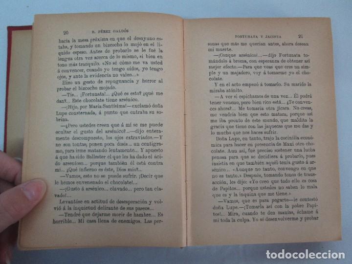 Libros antiguos: NOVELAS ESPAÑOLAS CONTEMPORANEAS. BENITO PEREZ GALDOS. 13 EJEMPLARES. VER FOTOGRAFIAS - Foto 14 - 99878947