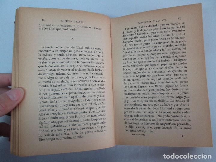 Libros antiguos: NOVELAS ESPAÑOLAS CONTEMPORANEAS. BENITO PEREZ GALDOS. 13 EJEMPLARES. VER FOTOGRAFIAS - Foto 15 - 99878947